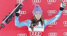 Kenza Tazi à la 45ème place au slalom