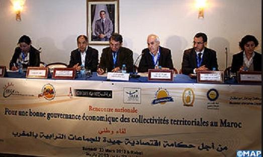Mémorandum sur la bonne gouvernance économique des collectivités territoriales
