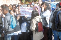 Sit-in à Fès pour le changement du système éducatif