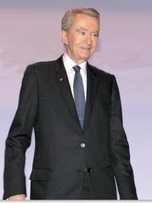Bernard Arnault honoré  à New York pour sa générosité
