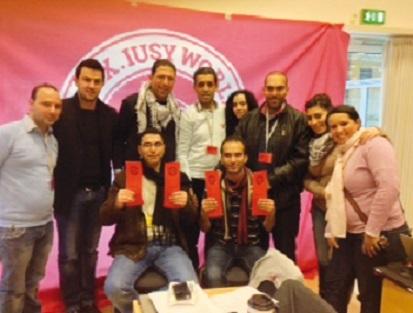 Fin des travaux du 30ème Congrès de l'Union internationale de la jeunesse socialiste