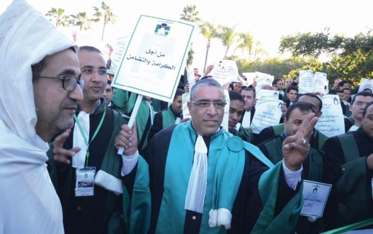 Les magistrats dénoncent  l'illégalité de tout contrôle  extrajudiciaire de leurs jugements