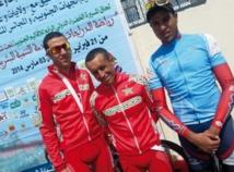 Les coureurs cyclistes nationaux ont  dominé le Challenge de la Marche Verte