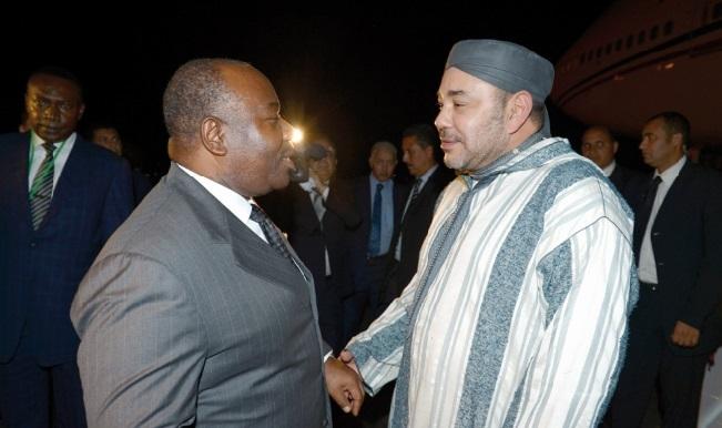Visite de S.M le Roi au Gabon