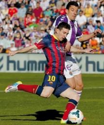 Le Barça perd gros à Valladolid