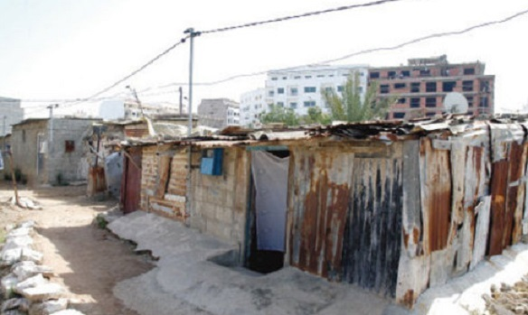 """Villes sans bidonvilles"" handicapé par ses recensements"