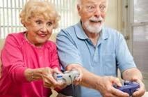 Les jeux vidéo au secours du troisième âge