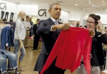 Insolite : Obama fait son shopping