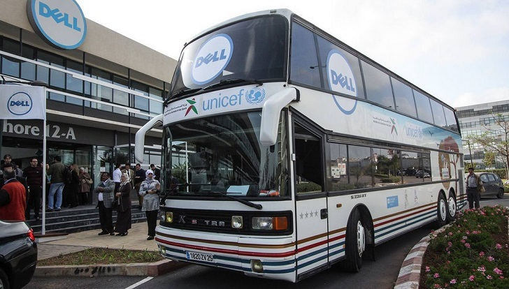 La Caravane AJI accélère l'accès des jeunes à l'informatique