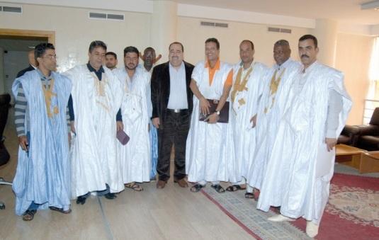 Driss Lachguar reçoit les professionnels de la pêche  à Oued Eddahab-Lagouira