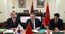 Signature d'un programme de coopération Maroc-Corée