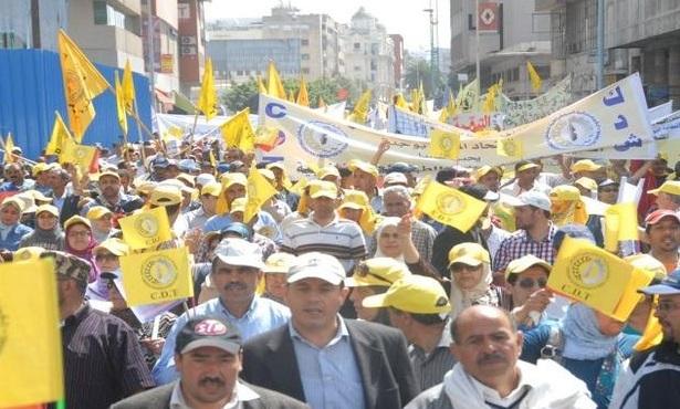Marche syndicale contre la politique antisociale du gouvernement
