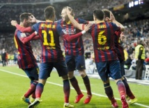Le Barça double le Real au Bernabeu