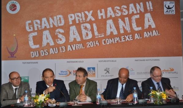 De grosses raquettes pour la 30ème édition du Grand Prix Hassan II