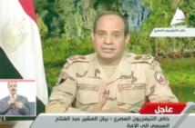 Sissi annonce sa candidature à la présidence de l'Egypte