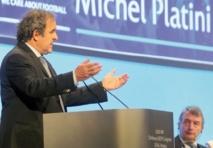 Au congrès de l'UEFA, Platini demande à Blatter d'agir