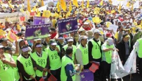 Les syndicats maintiennent la Marche du 6 avril
