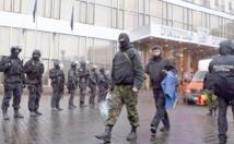 """Interpellation de membres d'une """"unité noire"""" à Kiev"""