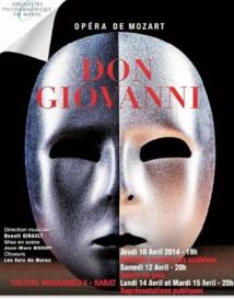 """L'Orchestre philharmonique du Maroc présente son nouveau spectacle """"Don Giovanni"""""""