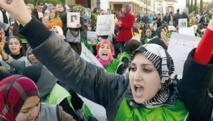 Marche pour l'égalité et la parité à Rabat