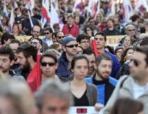 Grève générale de 24 h à Athènes