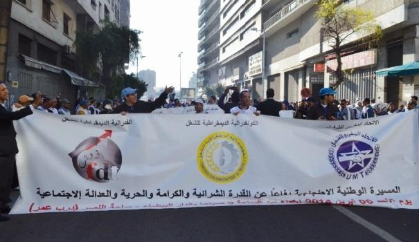 La Confédération syndicale internationale tance le gouvernement Benkirane