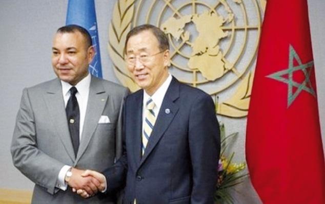 S.M le Roi demande à Ban Ki-moon d'éviter toute option périlleuse concernant le dossier du Sahara