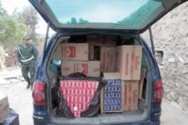 13.400 paquets de cigarettes de contrebande provenant de l'Algérie saisis à Taourirt
