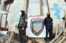 Le président ukrainien dénonce les projets de la Russie
