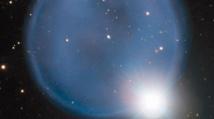 Un anneau de diamant observé à 2500 années-lumière de la Terre