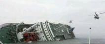 Plus de 300 disparus après le naufrage d'un ferry en Corée du Sud