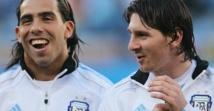 """Tevez: """"Avec Messi on s'entend bien"""""""