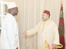 S.M le Roi reçoit le ministre ivoirien  de l'Intérieur et de la Sécurité à Dakhla
