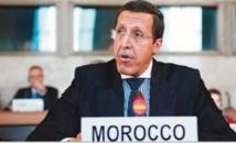 Omar Hilale remet un message Royal à Ban Ki-moon