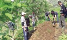 De jeunes Marocains explorent l'agriculture et la biodiversité