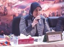 Bahija Gouimi, écrivaine et poétesse, présidente de l'Association des malades atteints de leucémie