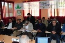 Premier meeting du  para-athlétisme à Khouribga