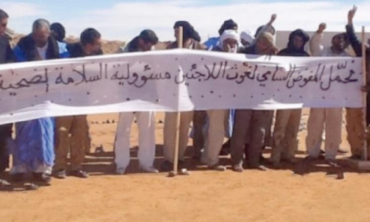 Les milices du Polisario sèment la terreur dans les camps de Tindouf