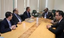 Hayatou et Lekjaa débattent des préparatifs de la Coupe d'Afrique des Nations