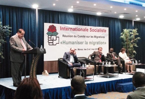 Driss Lachguar : La liberté de circulation et d'installation dans des pays tiers fait partie intégrante des droits de l'Homme