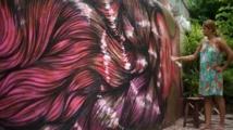 Rio, ville ouverte aux graffitis