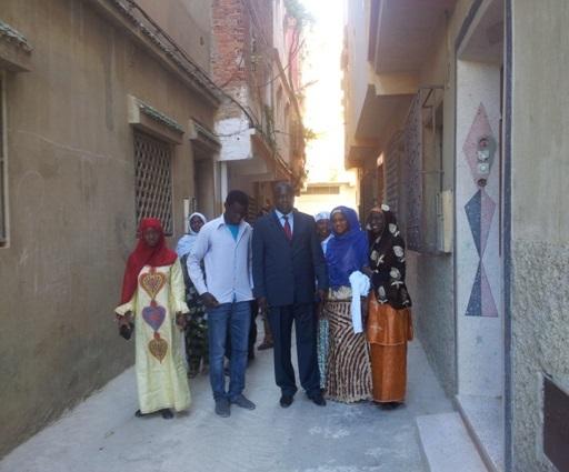 Abdramane Sylla rend visite aux étudiants maliens à Tanger