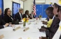 Rencontre entre le président sud-soudanais et le chef rebelle