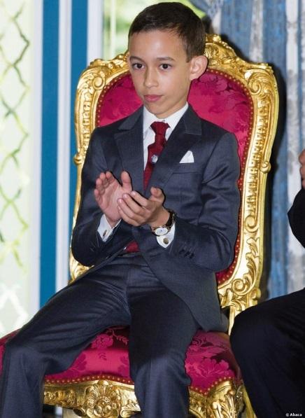 A l'occasion du 11ème  anniversaire de SAR le Prince Héritier Moulay El Hassan