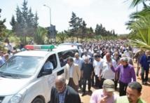 Obsèques à Casablanca de Mohamed Bouabid