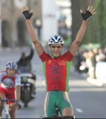 Lahssaini s'illustre  au challenge de cyclisme
