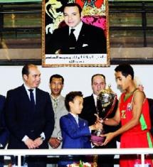 SAR le Prince Héritier Moulay El Hassan préside la finale du tournoi international de mini-basket