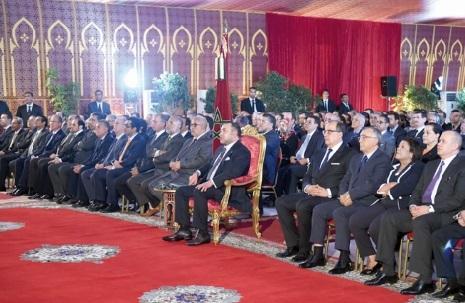 S.M le Roi préside le lancement de plusieurs projets à Rabat