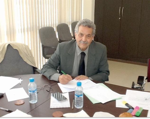 Omar Mounir, vice-président de l'APEFEL