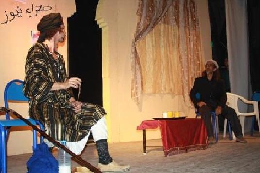 Les coutumes de la famille sahraouie au cœur d'une pièce comique